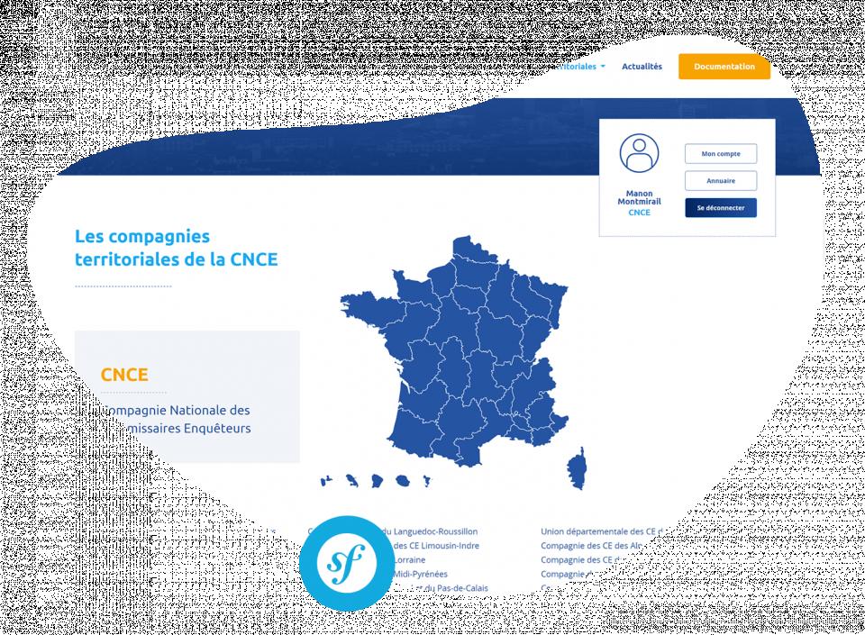 Compagnie Nationale des Commissaires Enquêteurs Un multisite pour la CNCE et ses compagnies territoriales