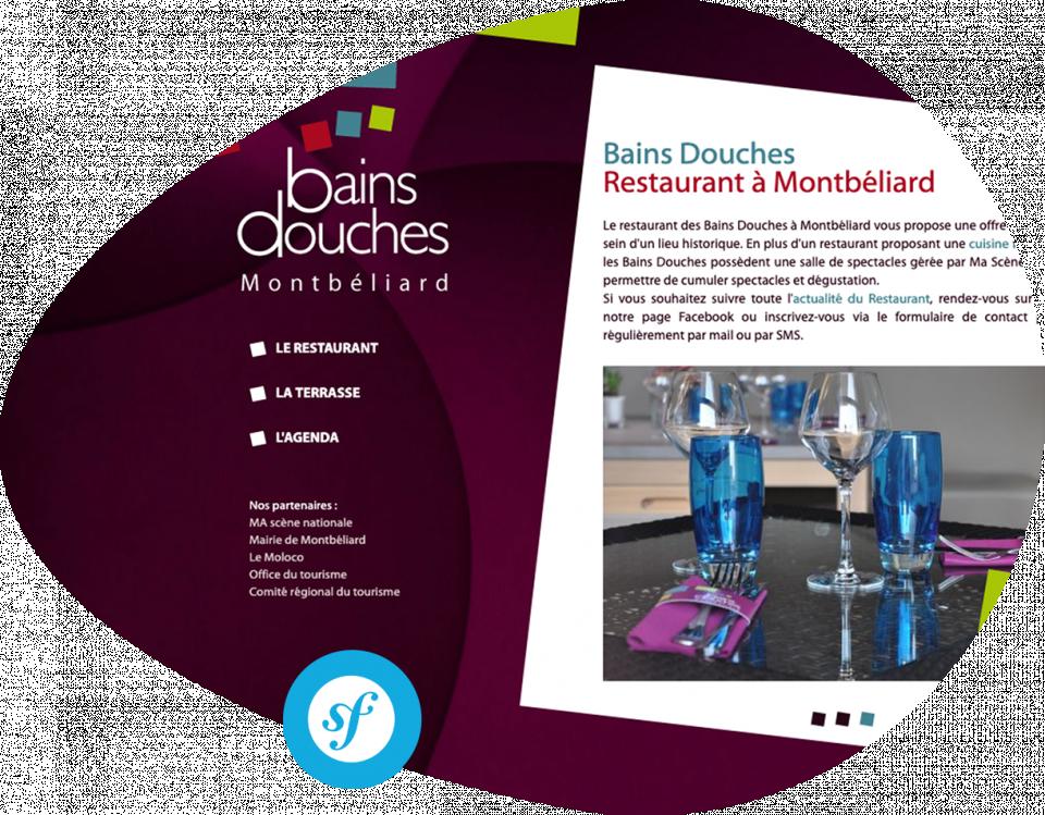 Bains Douches Restaurant à Montbéliard