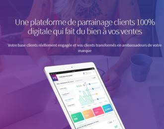 Plateforme de parrainage Goodfazer : Conception et réalisation d'une plateforme de parrainage clients Goodfazer