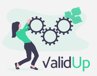 Site web Validup : Développementdu site web de test et validation de projet Validup