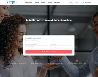 AutoJM 2.0 : Refonte graphique et technique pour le mandataire automobile