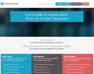 Les Entreprêteurs : Le financement participatif des entreprises